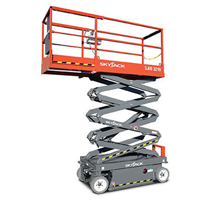 SkyJack Scissor lift from Skyline hire