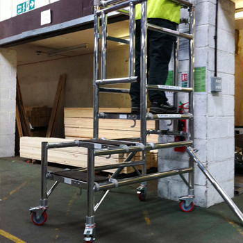 Podium steps at Skyline hire